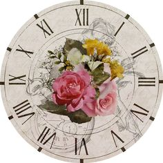 Циферблаты для декупажа часов. | 225 photos | VK