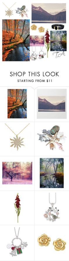 """""""°•□Natures_Jewerly~□■"""" by takinagaaoi ❤ liked on Polyvore featuring beauty, WALL, Allurez, OKA and Natures Jewelry"""