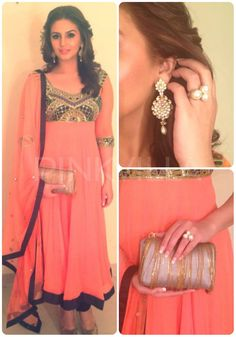 Pretty and relatively simple Indian outfit - salwar kameez / Punjabi