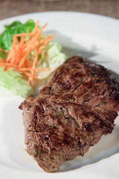 "Steak De Boeuf Nature (Steak ""Au Naturel"") @ Domaine Anna - Best Restaurant in Flic en Flac, Mauritius!"