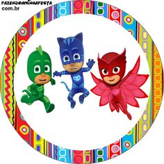 Boy Birthday Parties, 50th Birthday, Happy Birthday, Pj Party, Mask Party, Pj Masks Cake Topper, Outdoor Party Games, Halloween Spider, First Birthdays