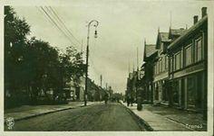Tromsø gateparti brukt tidlig 1900-tall Utg Oppi