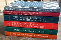Imam Al-Ghazali books Islamic Teachings, Islamic Quotes, Imam Ghazali Quotes, Books On Islam, Book Of Remembrance, Al Ghazali, Books To Read, My Books, Little Library
