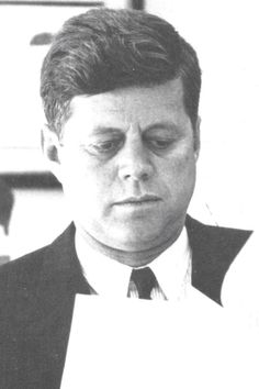 "John Fitzgerald Kennedy (May 29, 1917 – November 22, 1963), commonly known as ""Jack"" or by his initials JFK, was the 35th President of the United States, serving from January 1961 until he was assassinated in November 1963.❤❃❤❃❤❃❤  http://en.wikipedia.org/wiki/John_F._Kennedy"