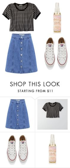 """""""oldie beach party"""" by epallen on Polyvore featuring Être Cécile, American Eagle Outfitters and Converse"""