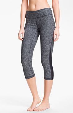 Zella 'Streamline - Live In' Capri Leggings.  Nordstrom's has a lot of great and affordable workout capris!