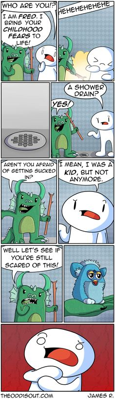 Theodd1sout :: Your Childhood Fears To Life | Tapastic Comics - image 1