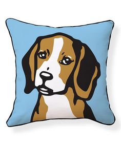 Look what I found on #zulily! Beagle Pillow #zulilyfinds