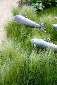"""Fiskar som simmar i """" vatten"""""""