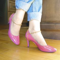 Everyone has that pair of high heels that needs retiring, with this DIY we can shed new light on those tired shoes.
