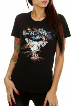 Evanescence Moth Girls T-Shirt Plus Size 3XL