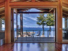 Waterfront Homes: Modern-Rustic Lake House in Zephyr Cove, Nev.   Houses   HGTV FrontDoor