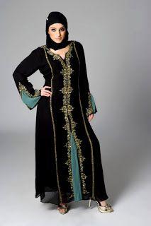 She 9 Style: Arabian Dresses For Women's 2012 | Abaya Style Dresses For Dubai And UAE Women's | Muslims Dresses For Female