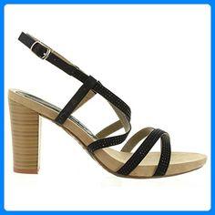 7f794cc04c62 MUSTANG - Damen Keil-Sandaletten - Hellblau Schuhe in Übergrößen, Größe 45  - Sandalen für frauen ( Partner-Link)   Sandalen für Frauen   Pinterest
