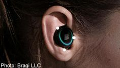 The Dash headphone is completely wireless and sits subtly in your ear