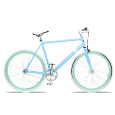 The Vice bicycle by Sole. I'm so in love with it's sleek frame and happy summer colors.