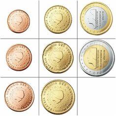 Alle euromunten - Euromunten en biljetten Coin Collecting, Coins, Collection, Dutch Rabbit, Trier, Rooms