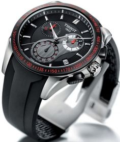 Tissot Veloci-T Watch - Speed Against Time
