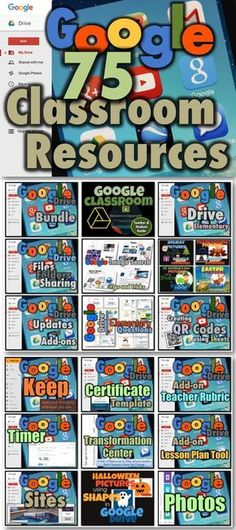 75 Google Resources for Your Classroom!