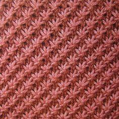 knit stitches | Stitch Pattern: Multiple of 4 + 1