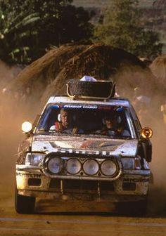 Peugeot 205 T16 Safari Rally Kenya