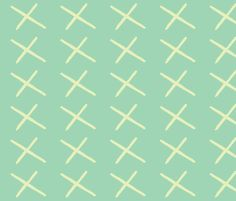 x fabric by shy_bunny on Spoonflower - custom fabric  Also see an outfit with this design on Etsy @Heather Napier