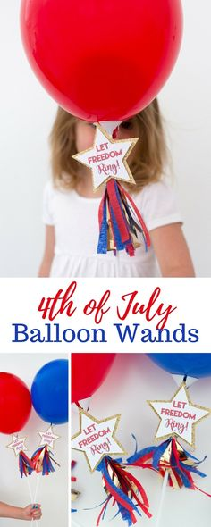 Let Freedom Ring 4th of July Party Favors by Partyography on Love the Da