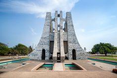 Nkrumah Memorial Park in Accra in Ghana