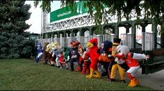 Mascots prepare to welcome University of Louisville into the ACC