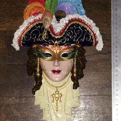 #handmade #handpainted #madebymeliz #elişi #akrilik #fantastik #hediyelik #kolleksiyon #mask #maske #dekorasyon #dekoratif #obje