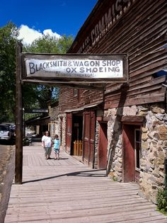 Virginia City, Montana - population of 196, but a National Historic Landmark