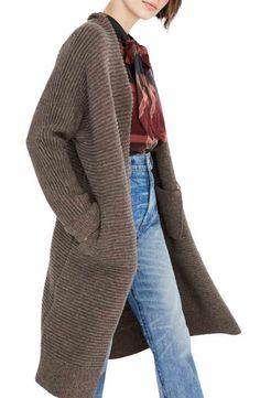 e599f1e7a6 Madewell Fulton Sweater Coat Girls Sweaters