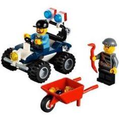 Acheter City Lego 60006 Le 4x4 de la police spéciale 6,99 € livré le moins cher