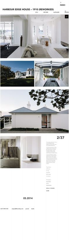 Harbour Edge House – 1910 (reworked) — Residential | Fearon Hay Architects – Auckland, New Zealand