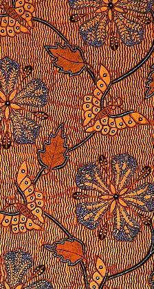 Kain Panjang (batik long cloth) with flowers and butterflies Ethnic Patterns, Textile Patterns, Textile Prints, Textile Design, Textile Art, Fabric Design, Floral Patterns, Print Design, Shibori