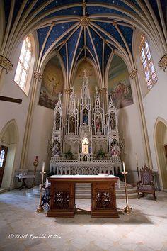 St. Mary's Church Altar by rhilton4u, via Flickr