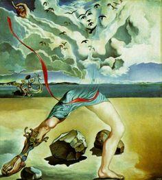Salvador Dali - Painting for Helena Rubinstein (panel 1), 1942