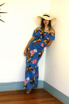 OH MY GOOD ....NESS!    this is my next buy: Vintage 80s Hawaiian Mumu Maxi Dress Beach Cover by posiesforlulu, $42.00