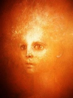 Self portrait of the Argentine artist Leonor Fini (1908-1996) - Lithography in color - Style:Fantastic Realism