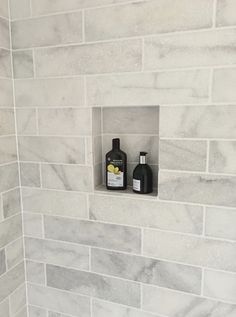 Fabulous marble tiles - Wiltshire project Master Bathroom shower.