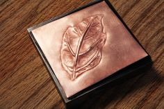 Creating Low-Relief Design in Copper with Chasing and Repoussé Jewelry Tools, Copper Jewelry, Jewelry Making Supplies, Jewellery Making, Metal Embossing, Metal Stamping, Copper Work, Copper Crafts, Copper Sheets