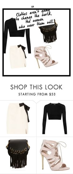 """Change"" by dodo9541 on Polyvore featuring Lanvin, Ivy Park, Chloé and Carvela"