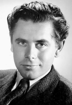 Glenn Ford photographed by George Hurrell, 1942.