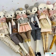 Did you know that these lovelies are all approx 60cm (23.5inch) in length and each part of their body is lined and then stitched. Each Amada Doll is a labour of ❤️ . . #amadadolls #shophandmade #ilovehandmade #newdolls #smallbusiness #handmade #clothdoll #heirloomdoll #handmadegift #babygift #babynursery #curated #dollmaker #dollcollector #artdoll #dolls #uniquegift #handmadedoll #australianmade #handmadewithlove #luxedoll #fox #gift #gold #pink #kidsinterior #kidsroom #kidsinspo…