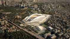 Tokyo National Olympic Stadium by Minmud London
