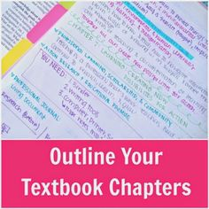 If you've ever tried to read a textbook chapter word-for-word, beginning-to-end, you know it's nearly impossible to stay focused. We've all seen that photo on Pinterest of the textbook covered in gumm