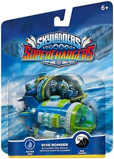 Skylanders SuperChargers: Vehicle Dive Bomber #toys #Skylanders #DiveBomber