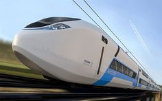 Double decker high-speed train design Aeroliner3000 for the UK rail network (2020) *