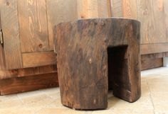 Get in touch with your inner lumberjack. The Rooster and The Hen will show you how to make this rustic step stool.