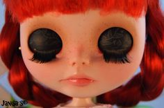 Doll OOAK Blythe custom by JanisasCouture on Etsy